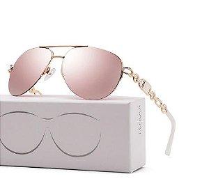 Óculos de Sol Feminino Fenchi Piloto