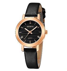 Relógio Feminino de couro Geneva