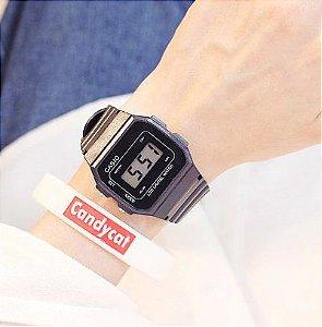 Relógio Feminino Digital Soxy - Estilo Casio