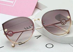 Óculos de Sol Feminino Gradiente