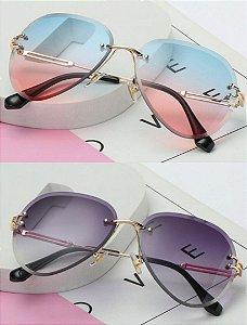 Kit com 2 - Óculos de Sol Feminino Dali Vintage