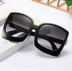 Óculos de Sol Feminino Quadrado Gradiente