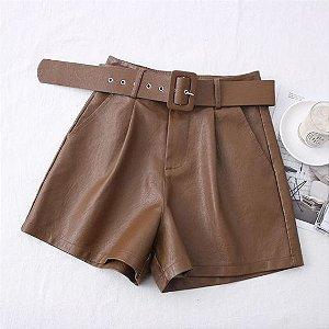 Shorts Feminino Gaily + Cinto