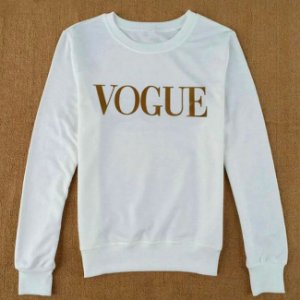 Moletom Feminino Vogue Long