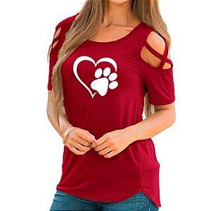 Blusinha Feminina Pet Love