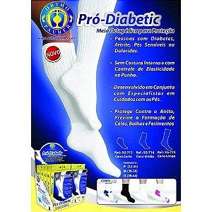 Meia Ortopédica para Proteção Pró-Diabetic -Cano Médio