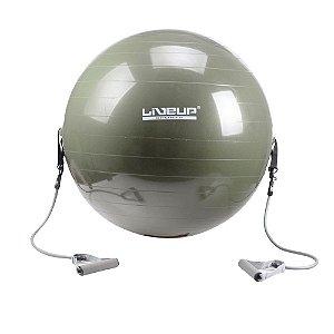 Bola Suiça para Pilates 65cm - Com Extensores