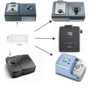 Filtro Ultrafino Nacional CPAP/BIPAP M-Series e System One (10 Unidades) - Philips Respironics