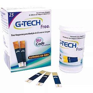 Tiras Reagentes G-Tech Free 25 unidades