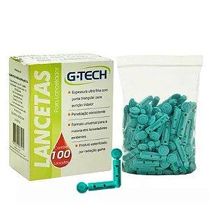 Lanceta para Lancetador 28G - G-Tech