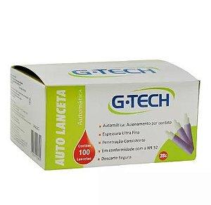 Auto Lanceta 28G G-tech Caixa Com 100 Unidades