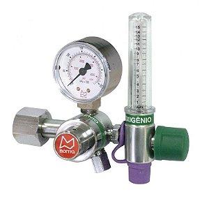 Regulador Econômico com Fluxômetro 0-15 L/MIN Oxigênio
