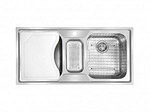 Cuba Tripla Franke  Smart SRX670 Com Acessórios 100x50x18cm