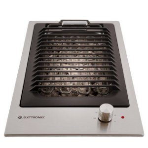 Cooktop Barbecue Quadratto Elettromec D303-BZXQ 30cm 220V