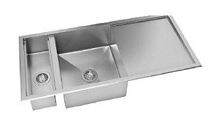 Cuba DeBacco Quadratino Reversível com Canal Organizador Úmido Com Acessórios  110x50x20cm