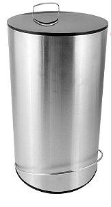 Lixeira em Inox com Pedal DeBacco 12 Litros