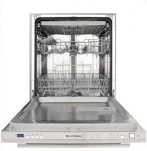 Lava Louças de Embutir em Inox Elettromec 14 Serviços 220V Built-In