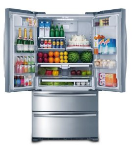 Refrigerador French Door Inox Crissair 590L