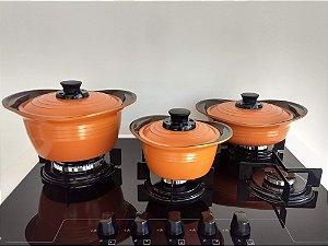 Conjunto Panela de Cerâmica Roichen Premium 3 Peças