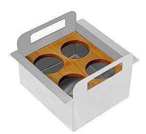 Porta Condimentos Debacco 15cm - Acessório Calha Úmida