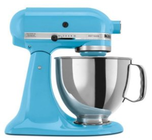 Batedeira Planetária KitchenAid Stand Mixer Artisan Crystal Blue 127V