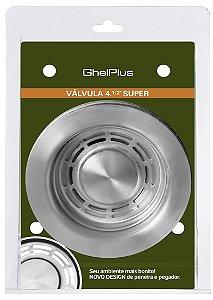 "Válvula Super Luxo 4,5"" GhelPlus/DeBacco"