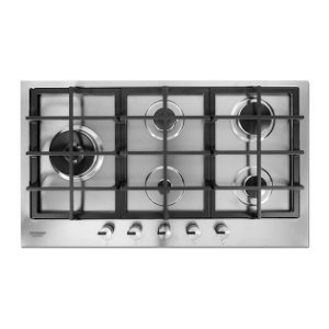 Cooktop  Crissair CCP 900 à Gás 5 Bocas Tripla-Chama Lateral 5.000kW - Made Italy