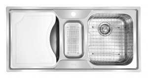 Cuba Tripla Franke  Smart SRX670 100x50x18cm Com Acessórios - SHOWROOM