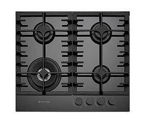 Cooktop à Gás Elettromec Vetro 60cm Bivolt