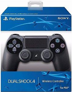 CONTROLE DUALSHOCK 4 PS4 PRETO