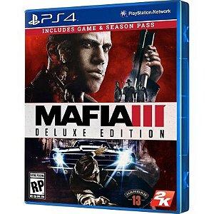 Jogo Mafia III Deluxe Edition - PS4