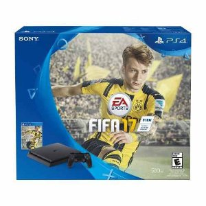 CONSOLE SONY PLAYSTATION 4 SLIM BUNDLE FIFA 17 CUH2015A 500GB