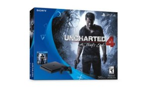 CONSOLE SONY PLAYSTATION 4 SLIM BUNDLE UNCHARTED 4 CUH2015A 500GB