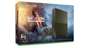 CONSOLE XBOX ONE S 1TB BATTLEFIELD 1 EDITION 220v