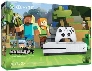 CONSOLE XBOX ONE S 500GB COM MINECRAFT 220v
