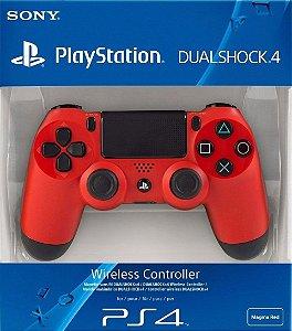 CONTROLE PS4 DUALSHOCK 4 VERMELHO