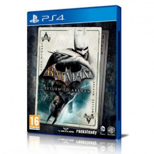 JOGO BATMAN RETURN TO ARKHAM PS4