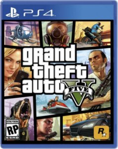 JOGO PS4 GRAND THEFT AUTO V GTA