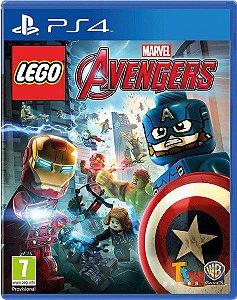 JOGO LEGO MARVEL AVENGERS PS4