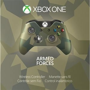 CONTROLE XBOX ONE ARMED FORCE