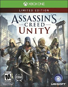 JOGO ASSASSINS CREED UNITY LIMITED EDITION XBOX ONE