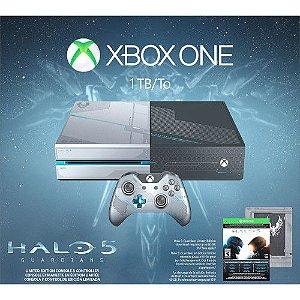 CONSOLE XBOX ONE 1 TERA BUNDLE HALO 5 220v