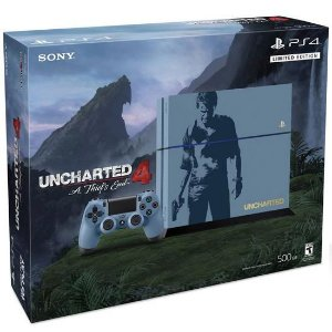CONSOLE SONY PLAYSTATION 4 500GB UNCHARTED 4 EDITION