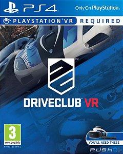 JOGO DRIVECLUB VR PS4