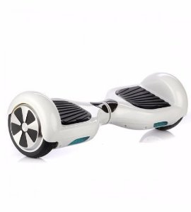 "SMART BALANCE SCOOTER ELETRICO FOSTON 6.5"" COM BLUETOOTH E BOLSA BRANCO"