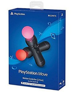 CONTROLE MOVE TWO PACK PS4