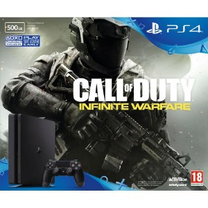 CONSOLE SONY PLAYSTATION 4 SLIM 500GB BUNDLE CALL OF DUTY INFINITY WARFARE