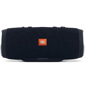 Caixa De Som Portátil Bluetooth - JBL Charge 3 Preta