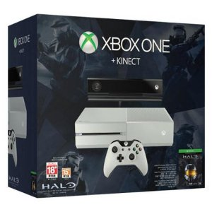CONSOLE XBOX ONE 500GB BUNDLE HALO MASTER CHIEF COLLECTION COM KINECT