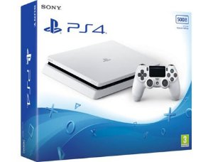 CONSOLE SONY PLAYSTATION 4 SLIM BRANCO 500GB